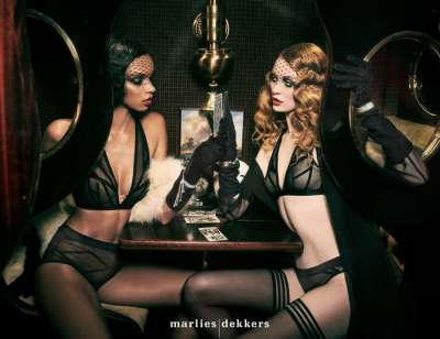 Marlies Dekkers BH Serie The Illusionist transparent black